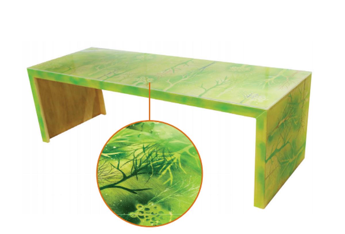 Mesa Natureza Impressa