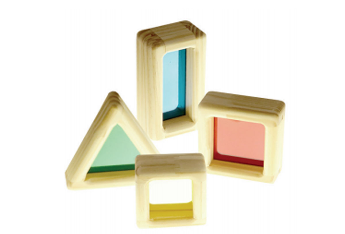 Blocos Acrílico - Caixa com 16 peças
